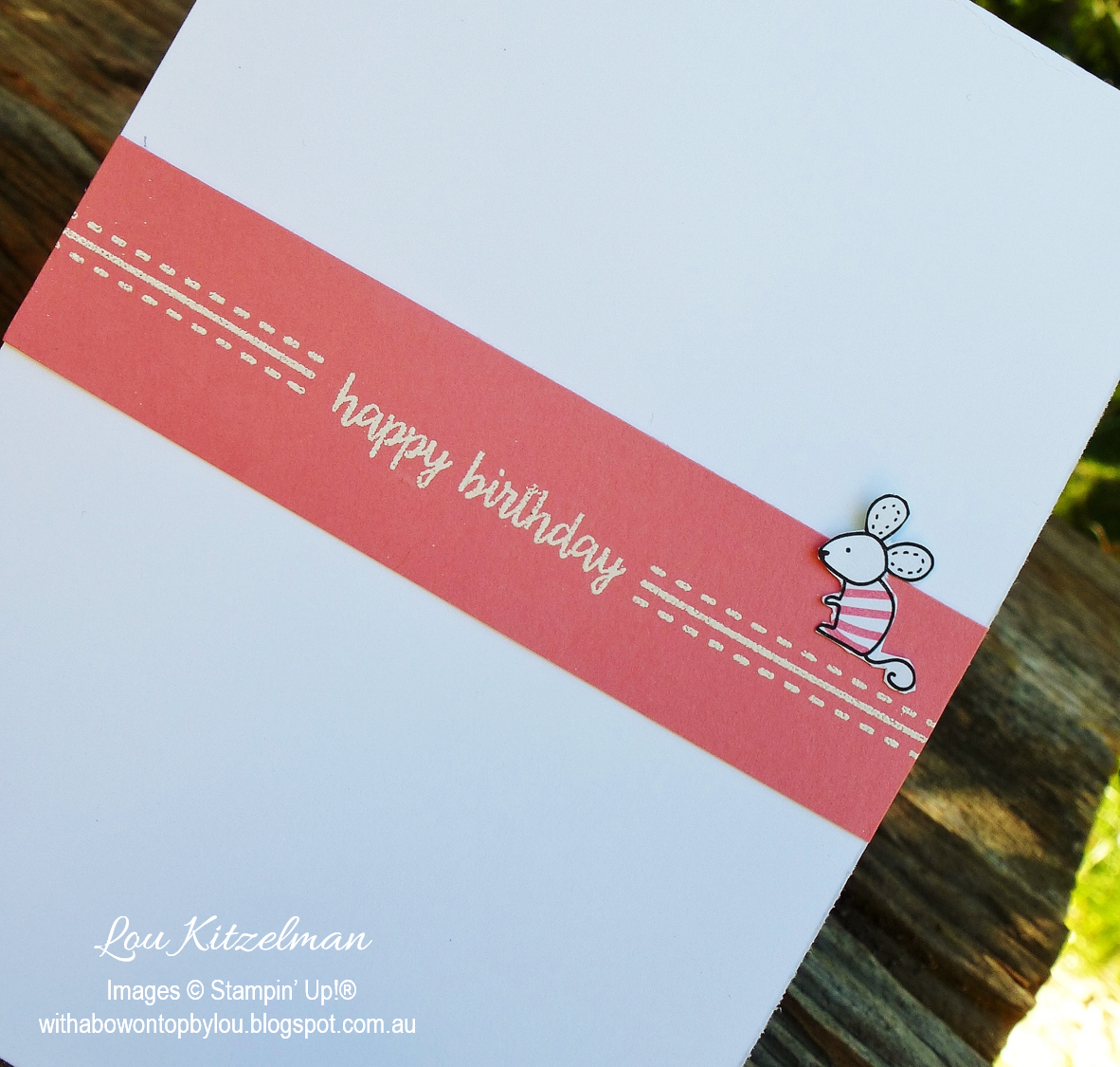 With a bow on top: Global Stamping Friends Blog Hop - Kids Cards