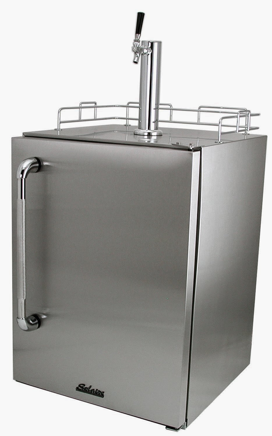 Solaire Outdoor Certified Refrigerated Keg Beer Cooler