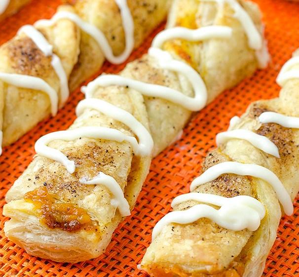 Pumpkin Twists #desserts #falltreats
