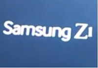 Samsung Galaxy Z1 Tizen logo