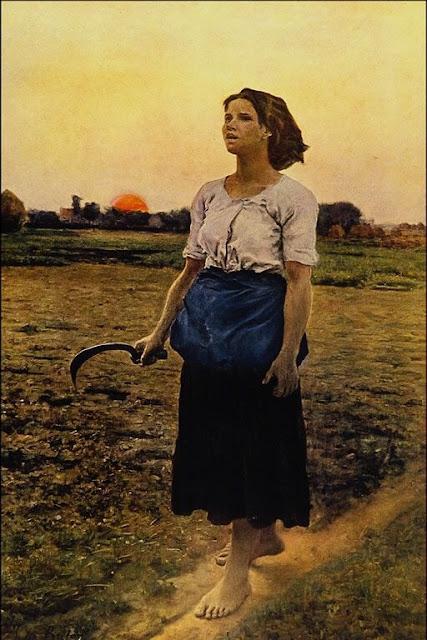 Song of the Lark(1884) Jules Berton_psartworks.in