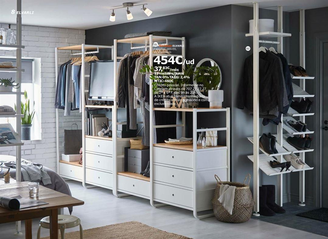 Roupeiros IKEA Bonitos E Baratos Decorao E Ideias