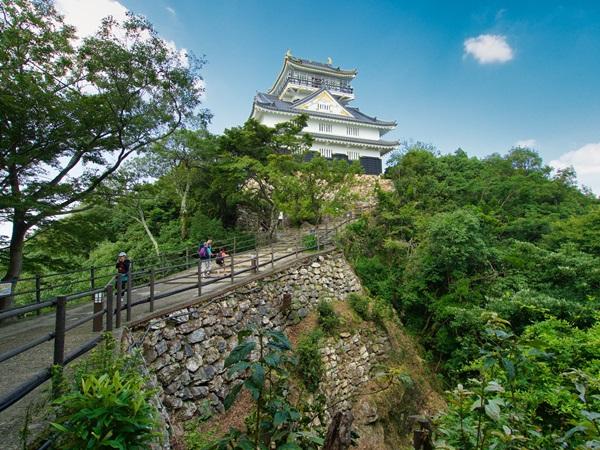 ปราสาทกิฟุ (Gifu Castle) @ www.jcastle.info