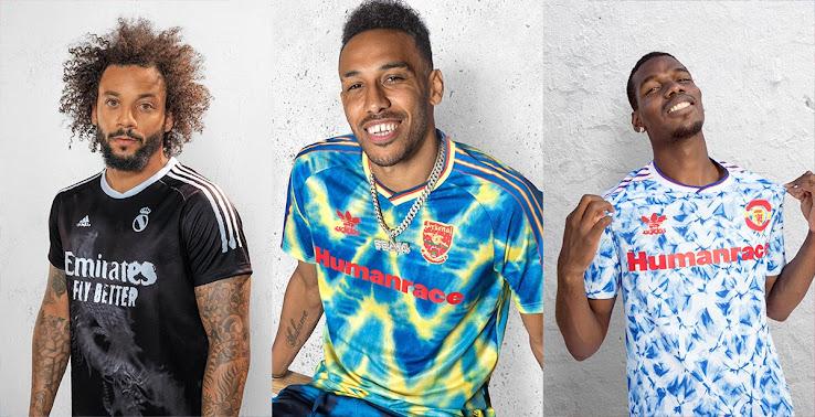 Rating All Adidas Humanrace Jerseys - Arsenal, Bayern, Juventus ...