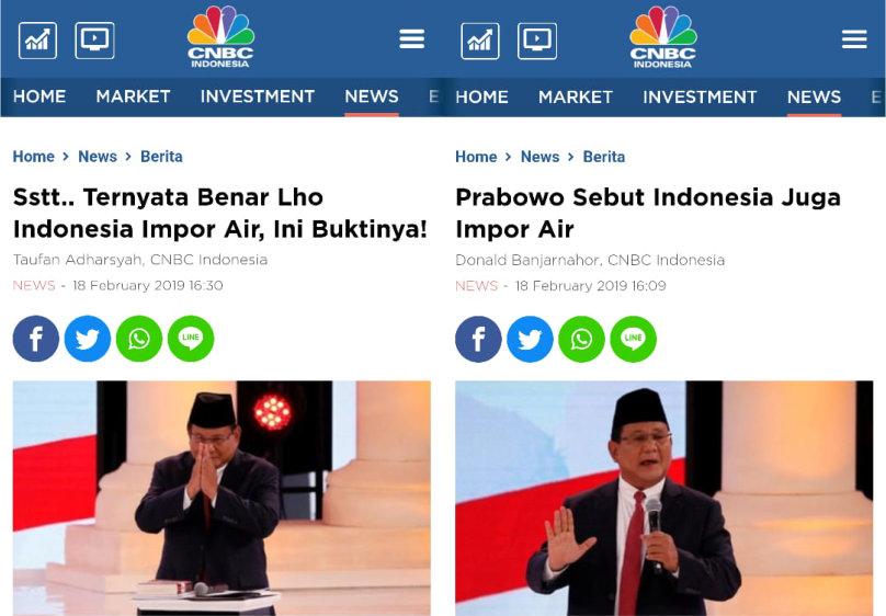 Sstt   Ternyata Benar Lho Indonesia Impor Air, Ini Buktinya