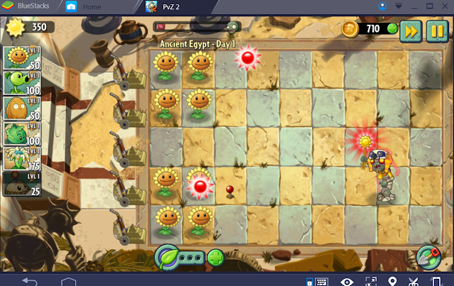 How to play Plants vs Zombies 2 using pc or laptop