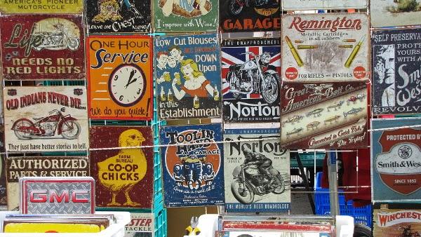 metallic signs norton