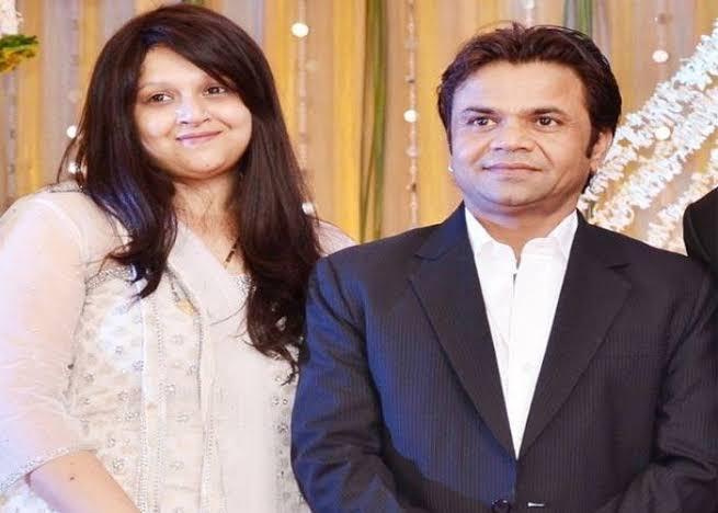 Rajpal Yadav And his Wife