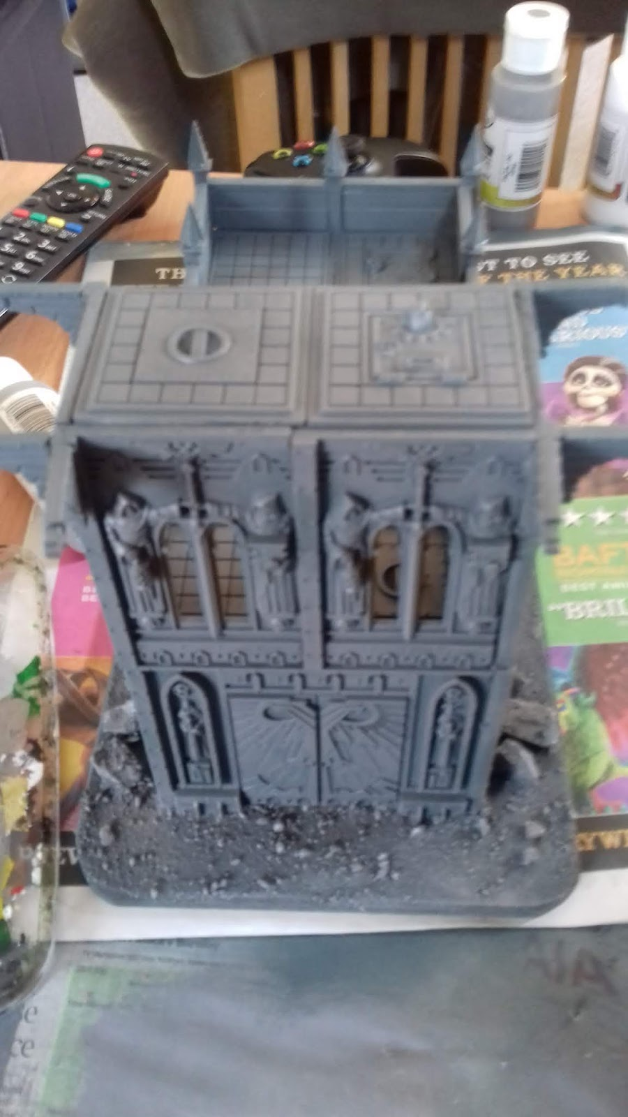 Hobby Update 17/09/18- More Sector Imperialis Ruins