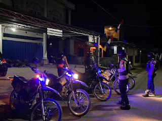 Patroli Biru Oleh Unit Patmor Sat Sabhara Polres Enrekang