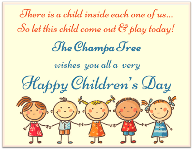 Advance Children's day Wishes for 2019