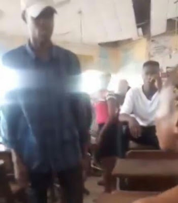 Man Publicly beats girlfriend for dumping him after he paid all her school fees