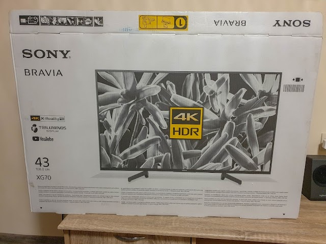 Sony XG70 4k HDR TV