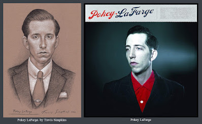Pokey LaFarge. Musician, Singer and Writer. Self Titled. Third Man Records. by Travis Simpkins