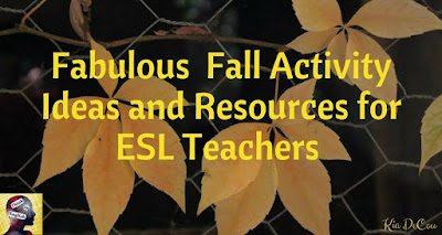 Blog With Friends, Fall Favorites | Fabulous Fall Activity Ideas and Resources for ESL Teachers by Kia of Think in English | Shared on www.BakingInATornado.com
