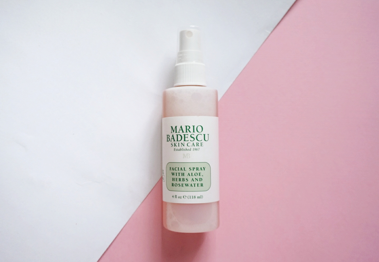 Review Mario Badescu Facial Spray Dessy Dyl