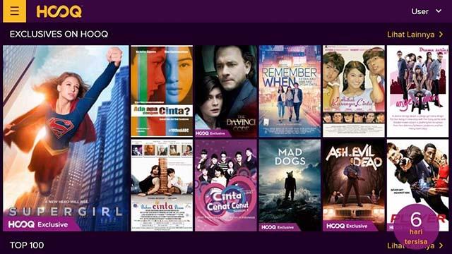 Hooq - Aplikasi Streaming Film Dan Nonton Movie Terbaik Di Android