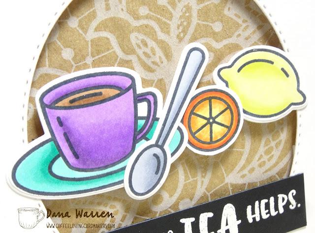 Dana Warren - Kraft Paper Stamps - Honey Bee Stamps - Spectrum Noir Markers