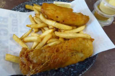 Big Fish Small Fish, haddock and chips