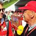 Lauda afirma que Vettel não está nos planos da Mercedes