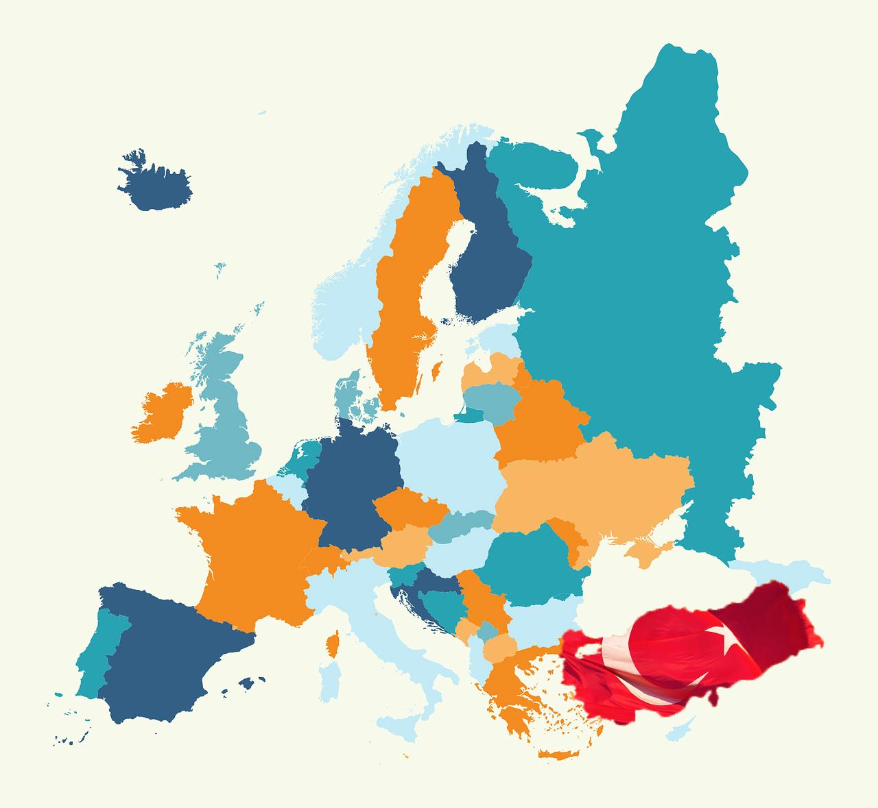Estambul mapa Europa
