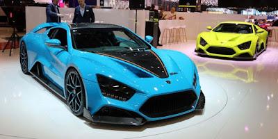 Les voitures les plus rapides du monde - Zenvo ST1 (233 Mph)