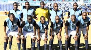منتخب بتسوانا فى مواجهة المنتخب المصرى وديا