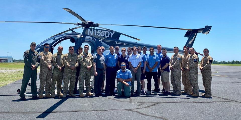 США подарували Сальвадору 12 гелікоптерів MD530F