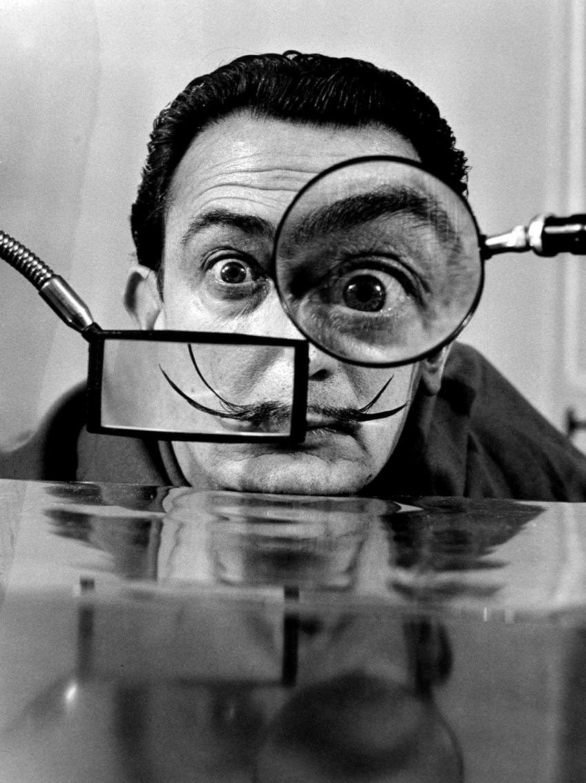 Willy Rizzo, Salvador Dali, Paris 1950