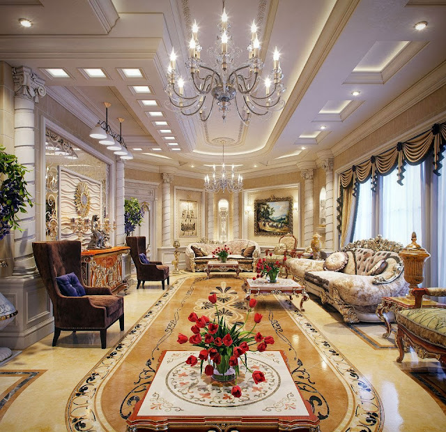 Luxury Life Design: Luxury Villa In Qatar Made Out Of The