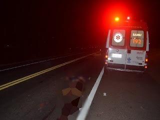 Em Cajazeiras, acidente entre caminhonete e moto mata mulher