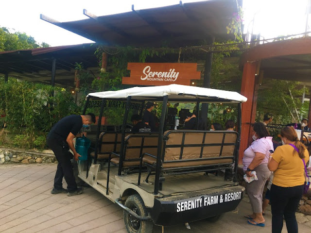 Serenity Farm and Resort Gulf Cart Service Shuttle