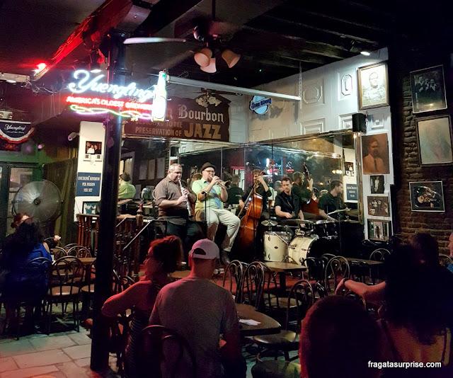 Maison Bourbon Jazz Club, Nova Orleans