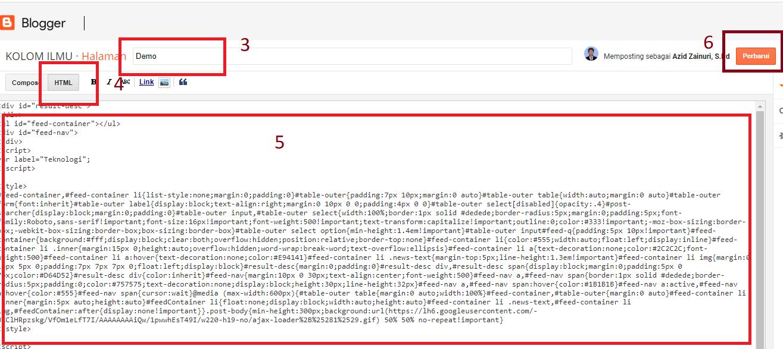 Cara Membuat Post Berdasarkan Label Keren di Halaman Static Blog