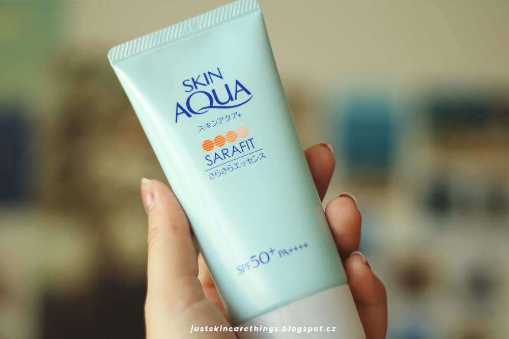 opalovací krém skin aqua sarasara essence