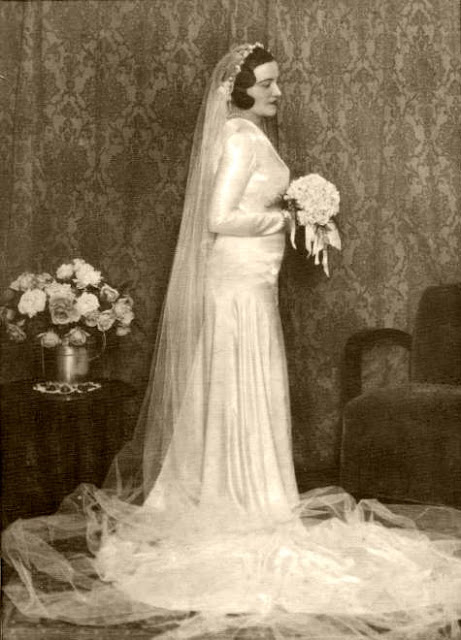 Vintage Pictures Of Bridals From Between The 1910s And