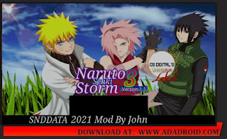 Naruto Senki Storm 3 Mod by John Apk