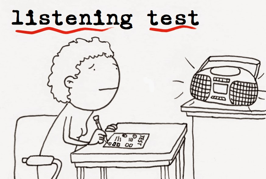 KEEP CALM AND LOVE ENGLISH: KET. LISTENING TEST