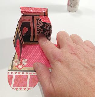 Valentine Candy Box assembly instruction