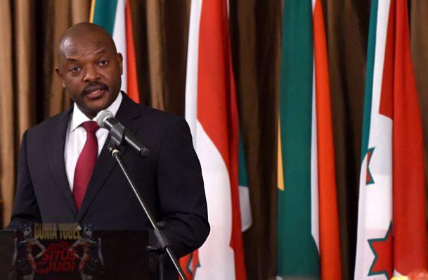 Foto Presiden Burundi, Presiden Pierre Nkurunziza