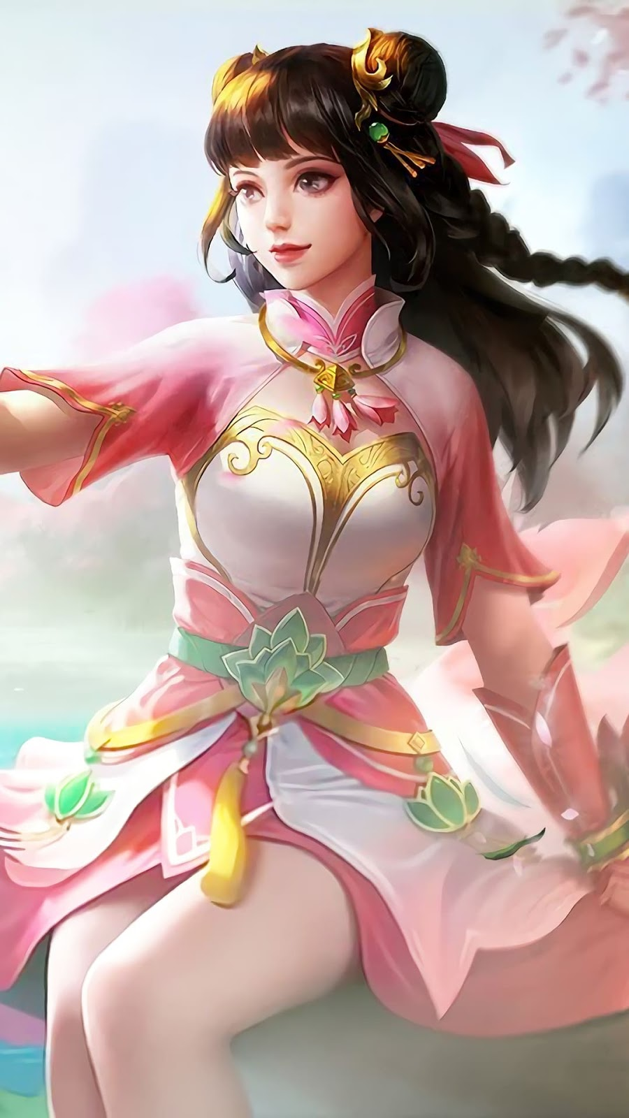 Wallpaper Guinevere Lotus Skin Mobile Legends HD for Android and iOS