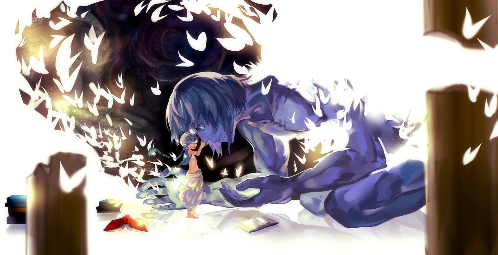 Hd Wallpaper Aladdin Ugo Magi Labyrinth Of Magic 103