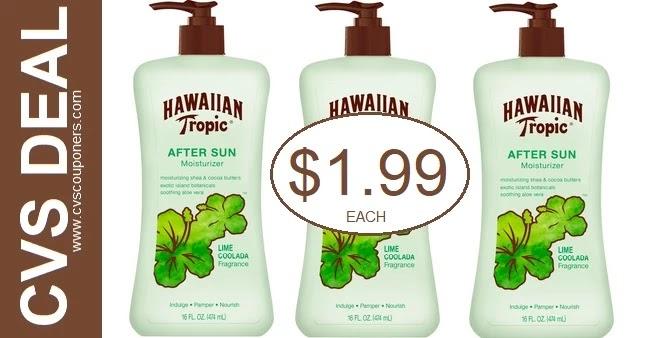Hawaiian Tropic Sun Care CVS Deals