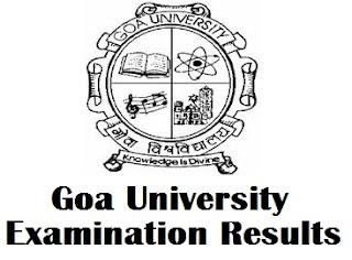 Goa University Engineering Results 2017