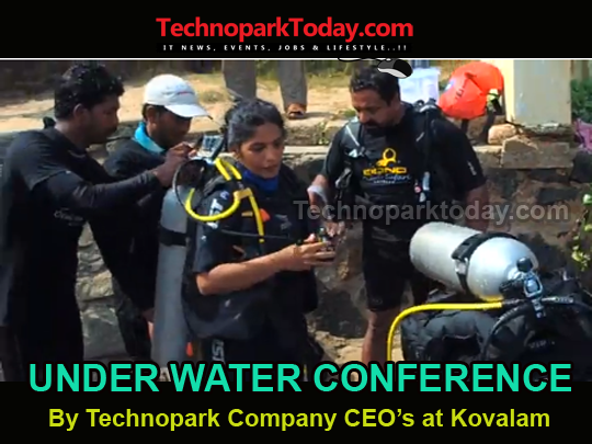 underwater conference at kovalam