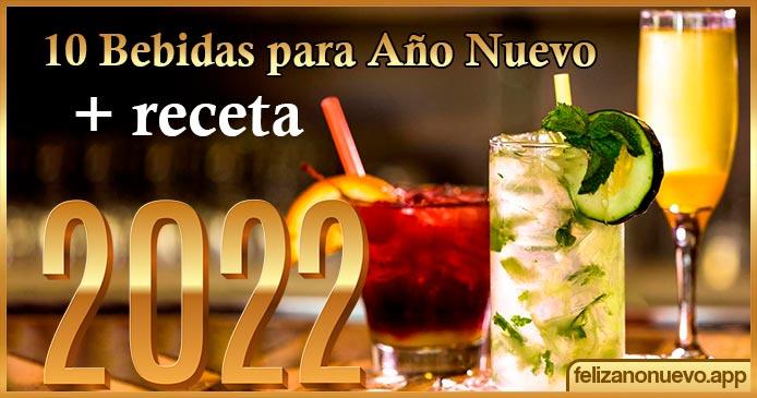 10 bebidas para año nuevo + receta