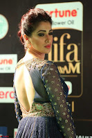 Raai Laxmi in Beautiful Backless Designer Anarkali Gown at IIFA Utsavam Awards 2017  Day 2  Exclusive 25.JPG