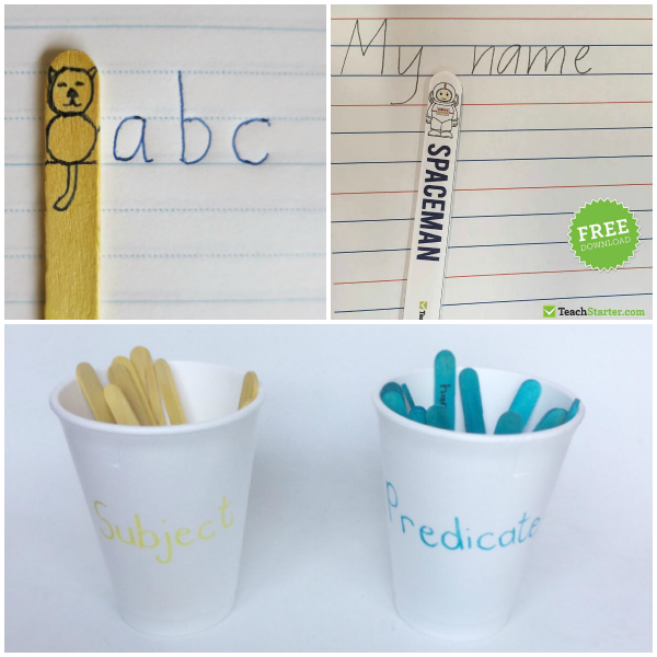 50 Best Ways To Use Craft Sticks For Learning in Early Childhood   you clever monkey