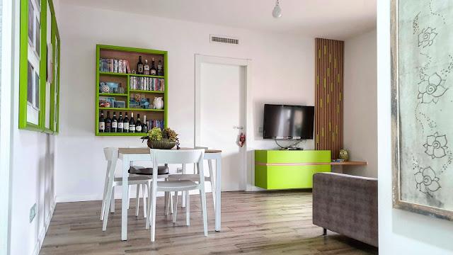 mobile tv e cornici a parete