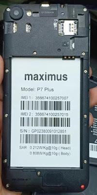 Maximus P7 Plus Flash File